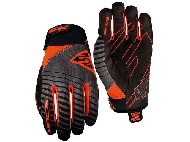 FIVE Race Gloves orange fluo